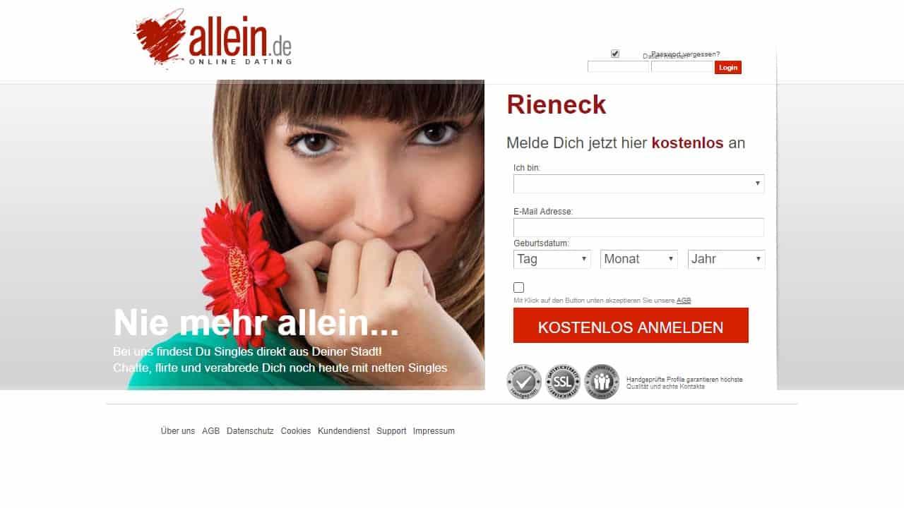 Testbericht: Allein.de