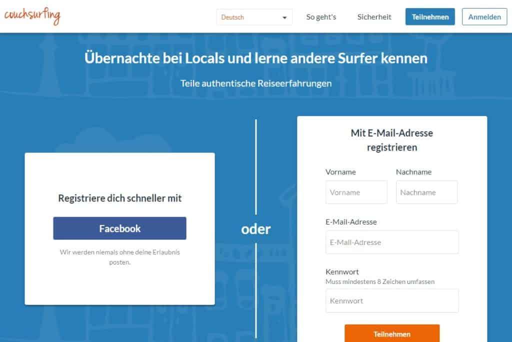 Testbericht: Couchsurfing.com