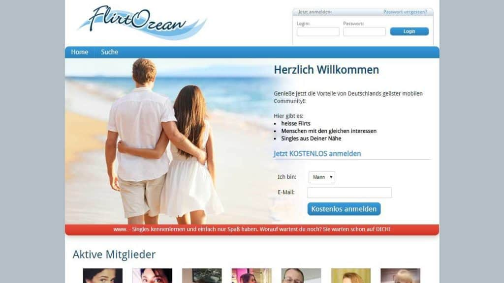 Testbericht: FlirtOzean.com