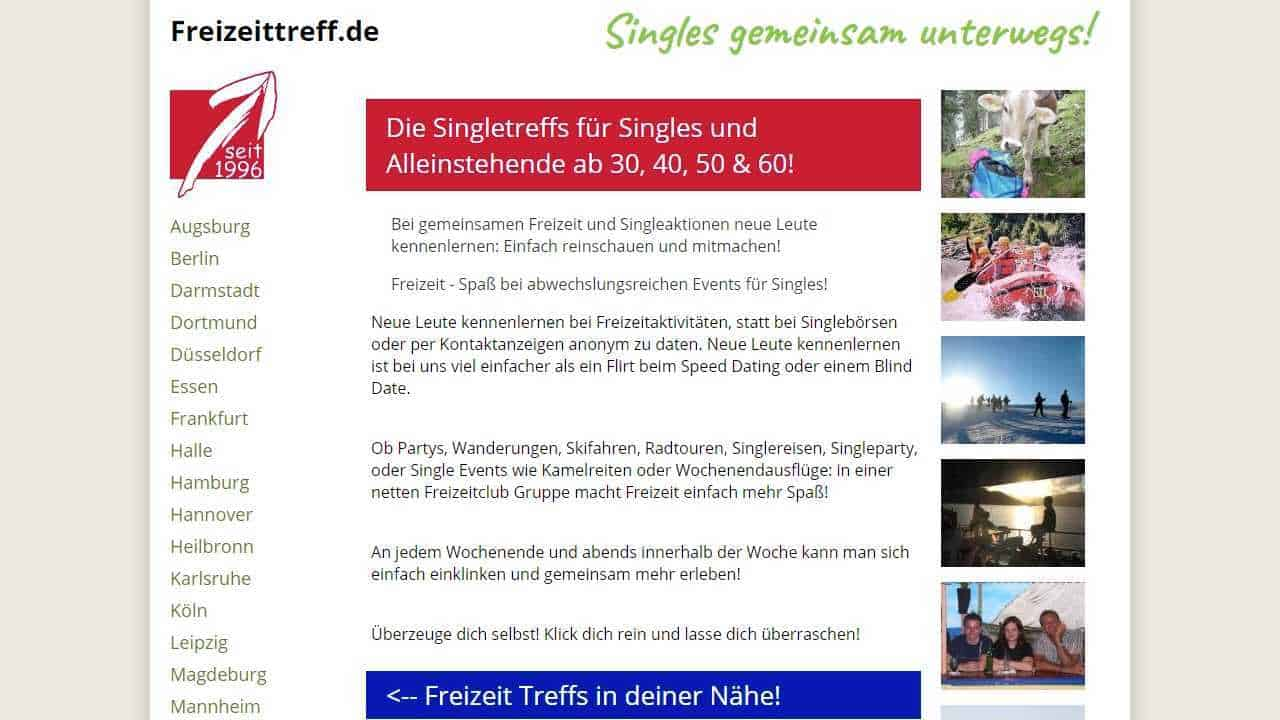 Testbericht: Freizeittreff.de