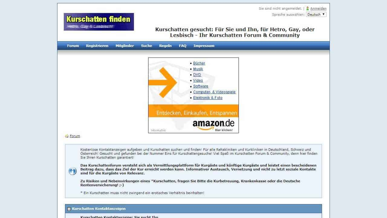 Testbericht: Kurschatten.org