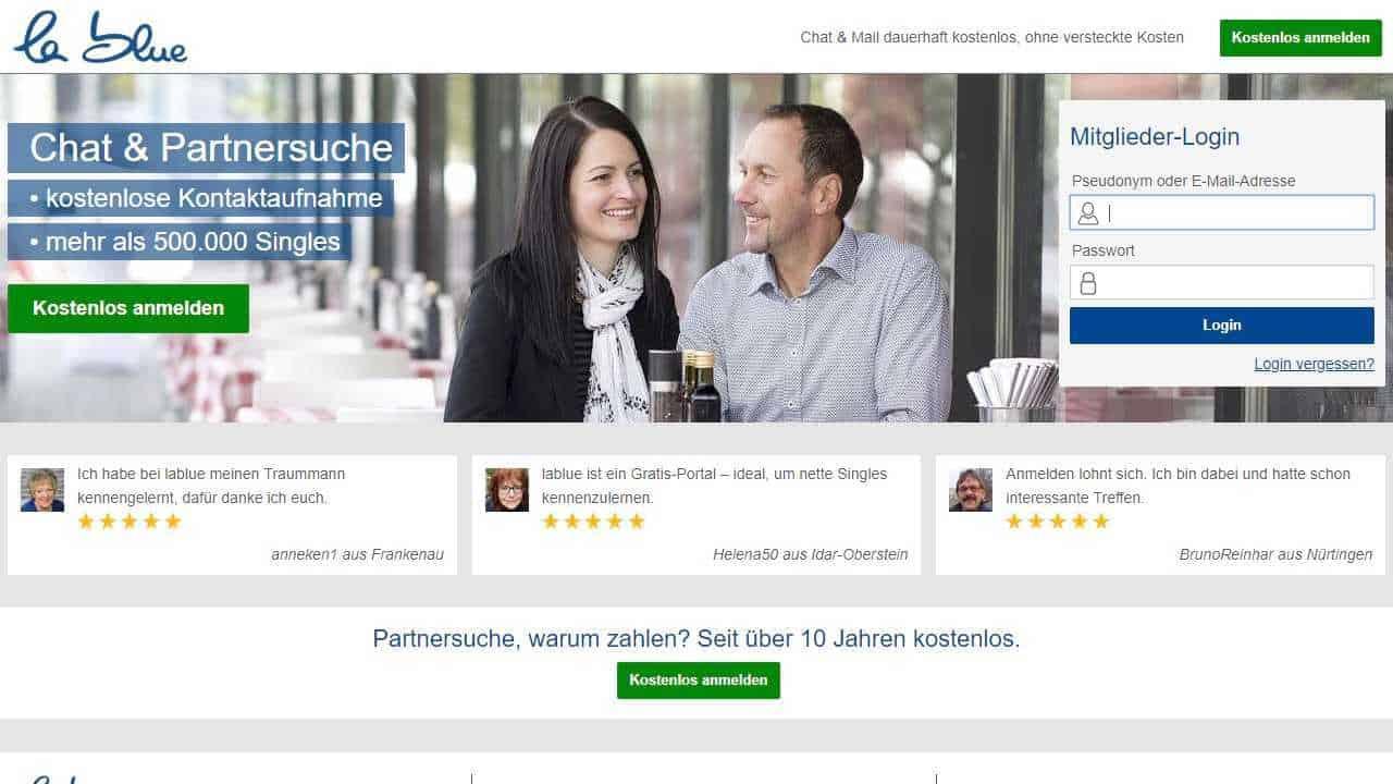 Testbericht: LaBlue.de
