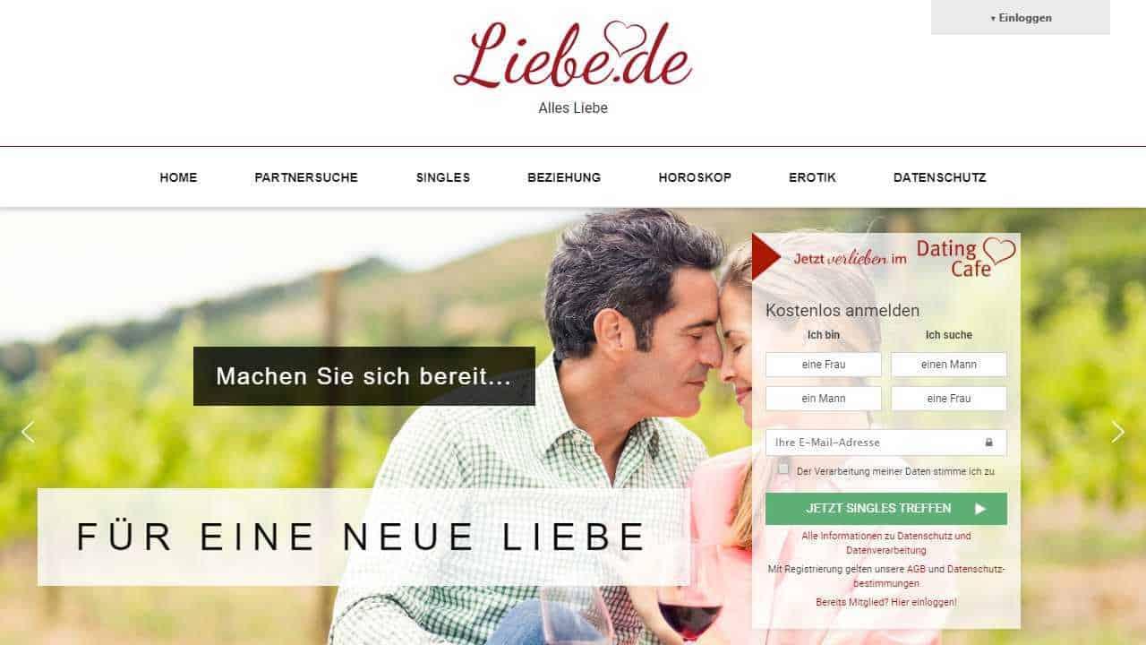 Testbericht: Liebe.de