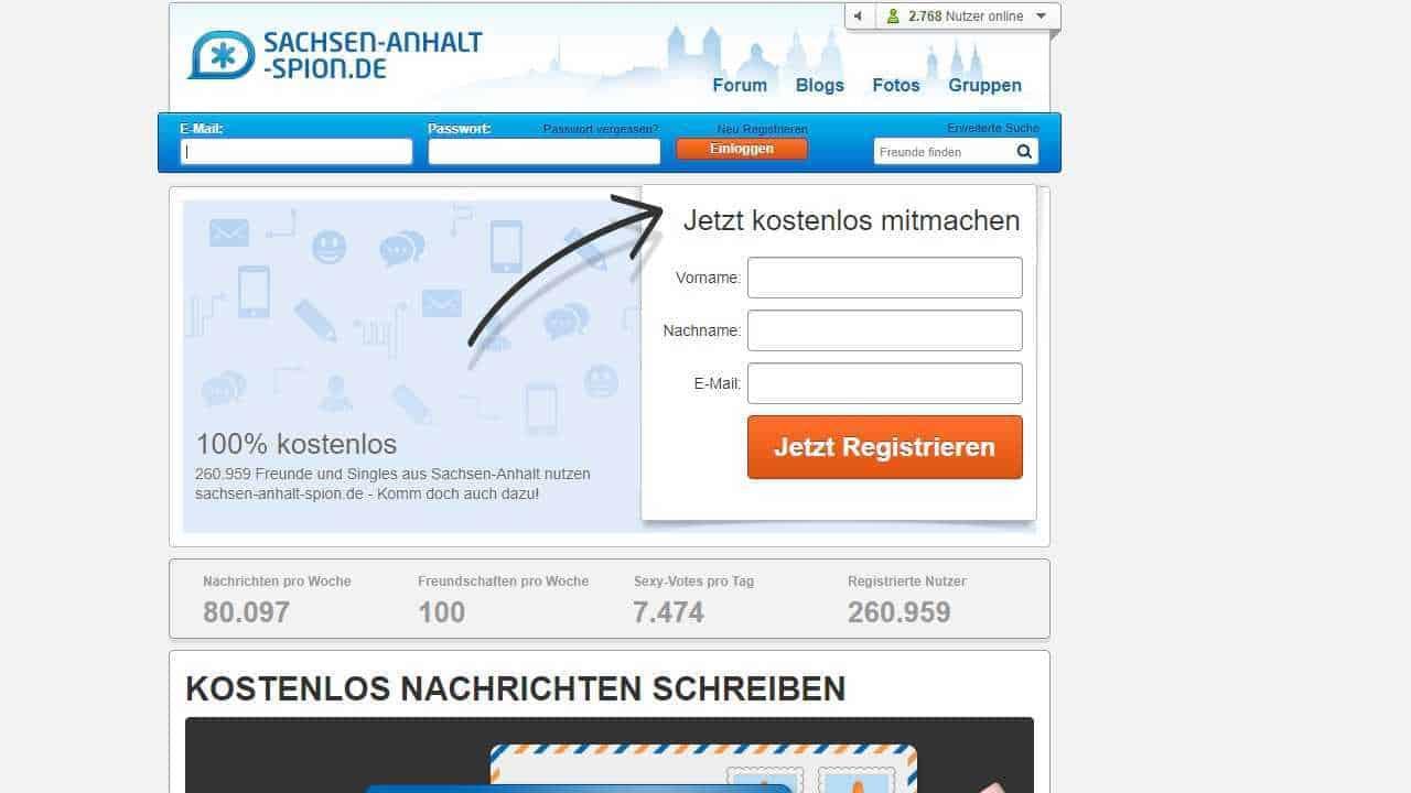 Testbericht: Sachsen-Anhalt-Spion.de