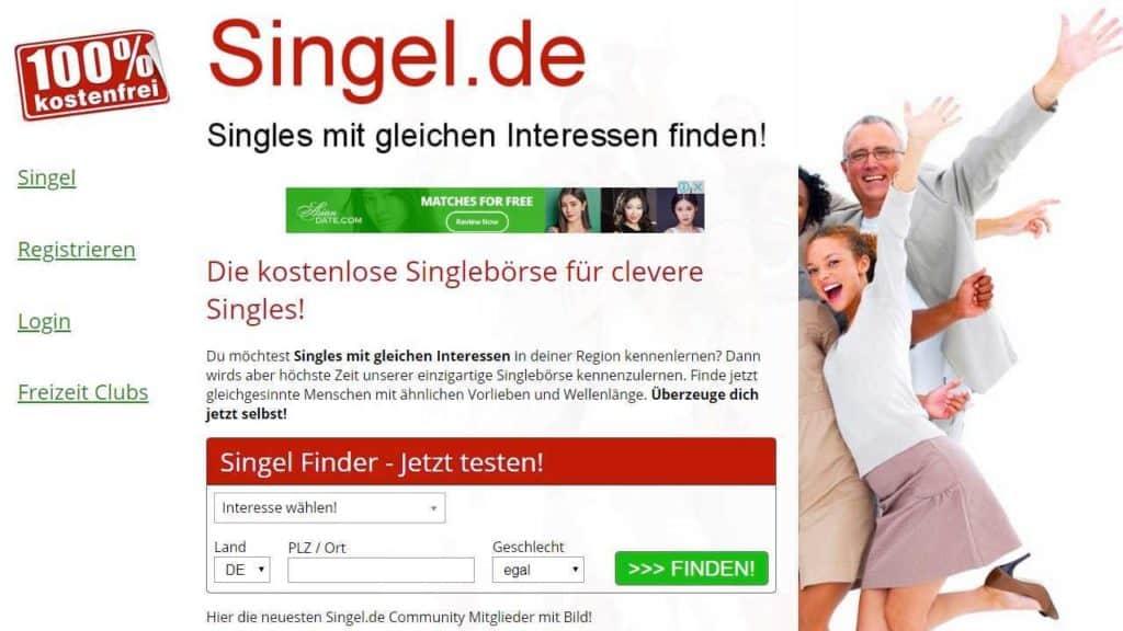 Testbericht: Singel.de