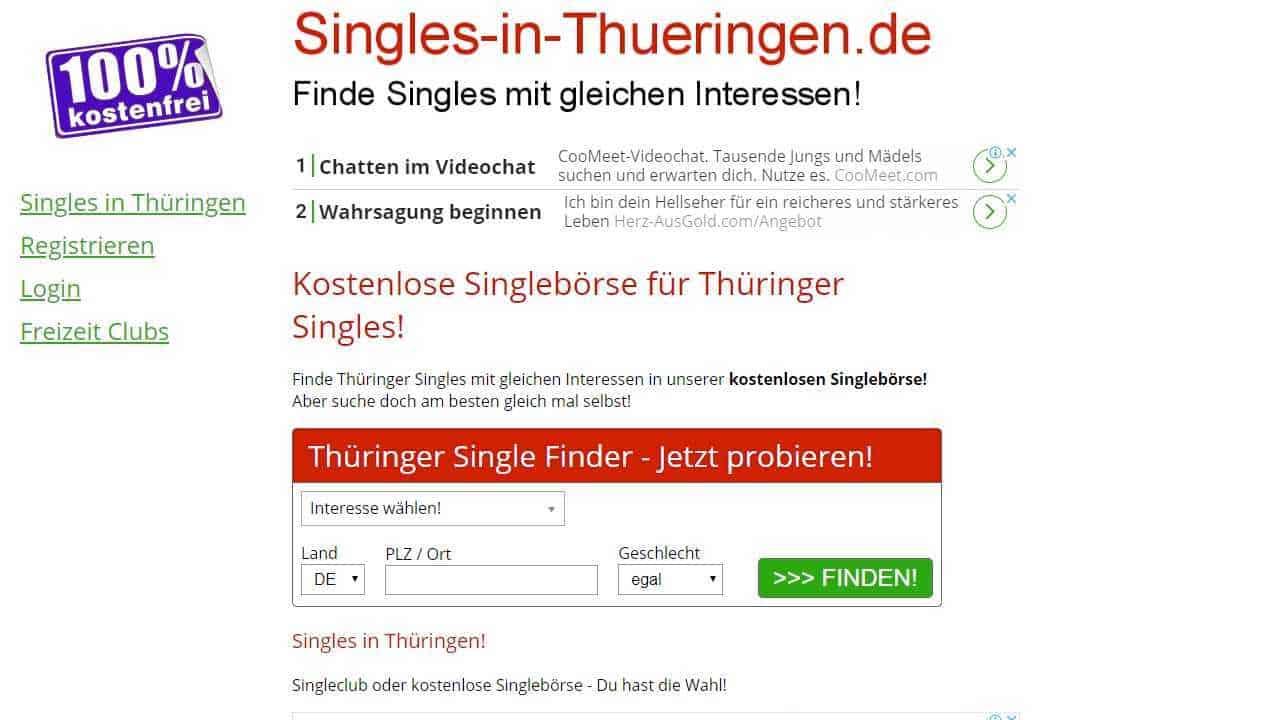 Testbericht: Singles-in-Thueringen.de