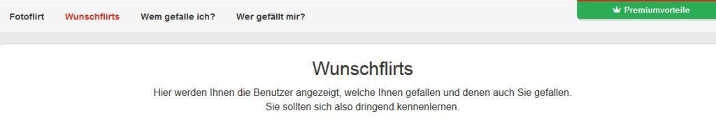 Wunschflirt auf Single.infranken.de