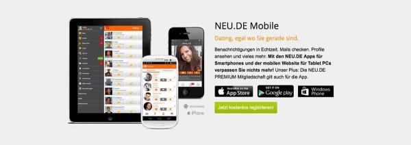 Neu.de App für alle Smartphones