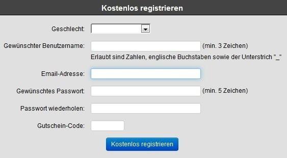 SM-MODELS.com - Registrierung