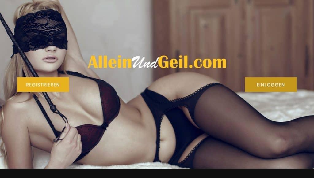 Testbericht: AlleinUndGeil.com Abzocke