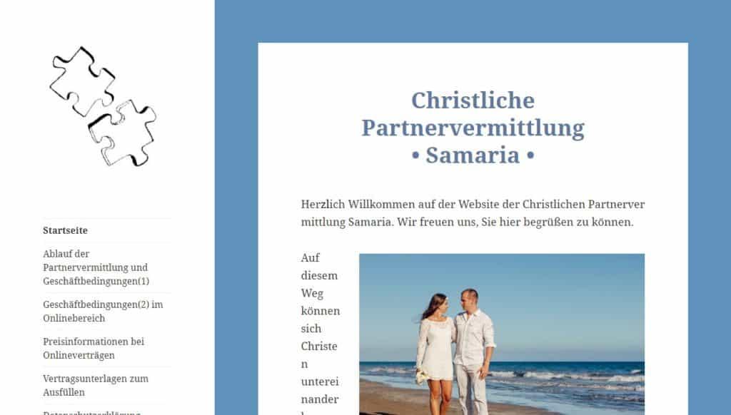 Testbericht: Christliche-Partnervermittlung-Samaria.de Abzocke