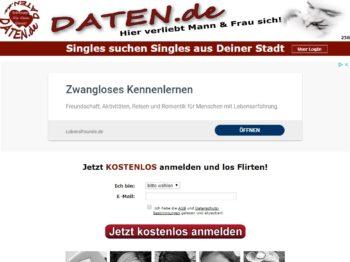 Testbericht: Daten.de