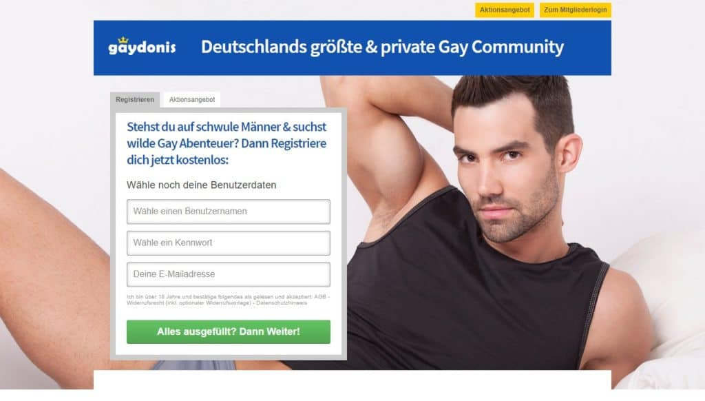 Testbericht: Gaydonis.com Abzocke