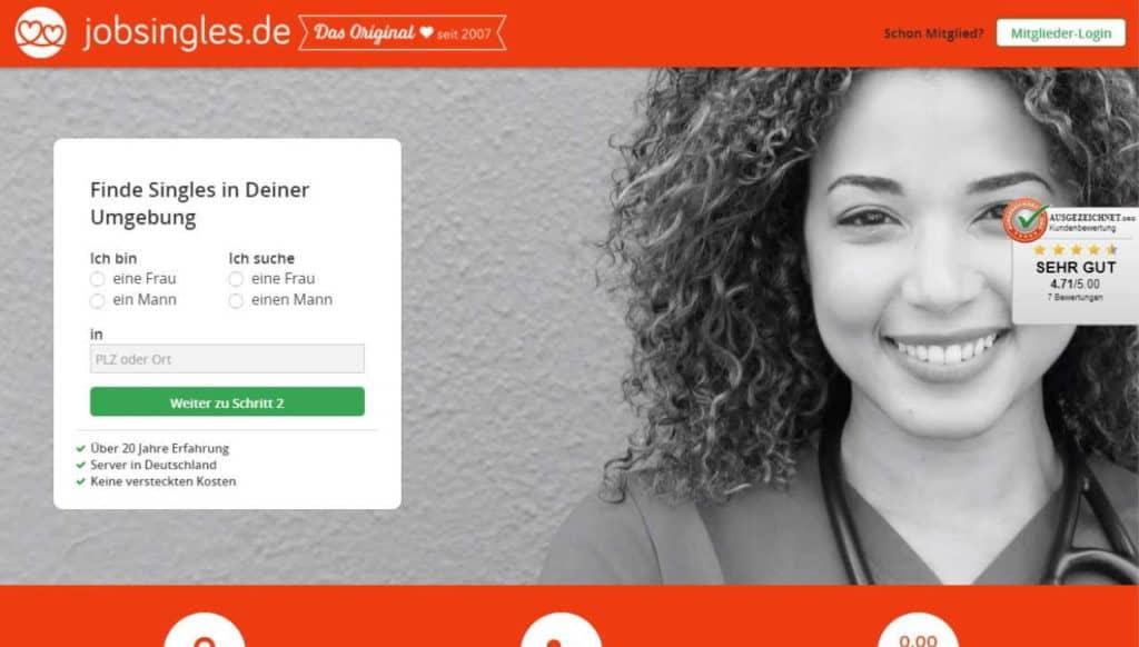 Testbericht: JobSingles.de