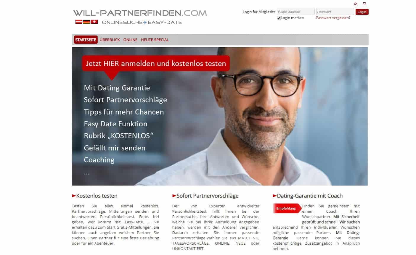 Testbericht: Will-PartnerFinden.com Abzocke