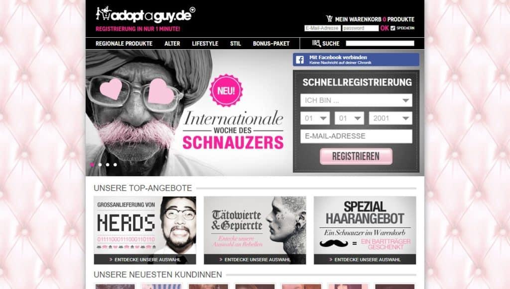 Testbericht: AdoptaGuy.de