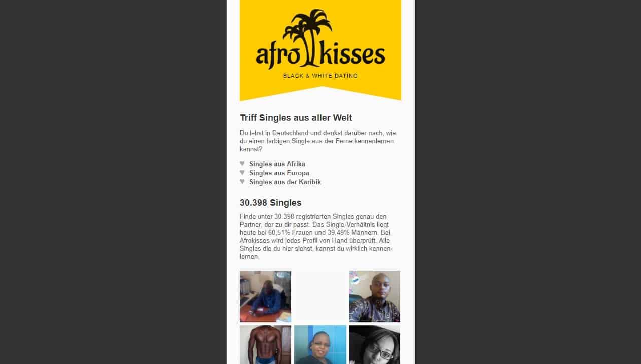 Testbericht: AfroKisses.com
