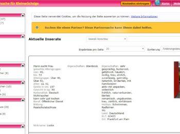 Testbericht: Kleiner-sucht-Kleine.de