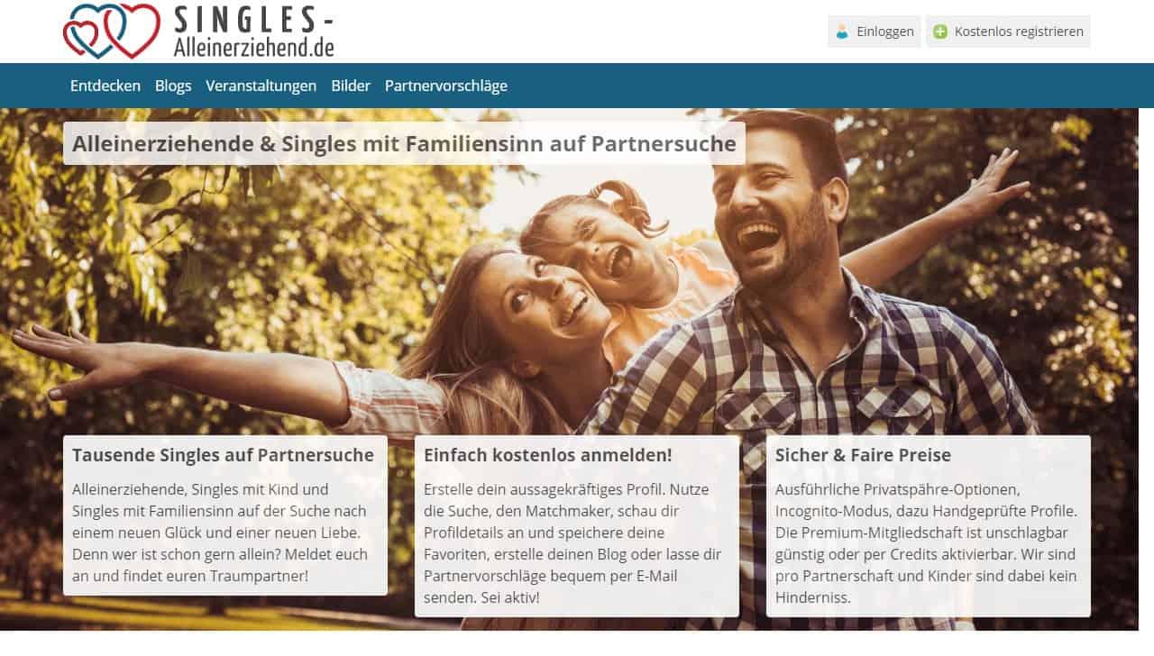Testbericht: Singles-Alleinerziehend.de
