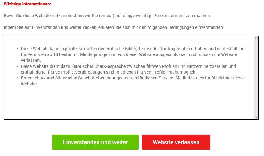 Warnung GeheimeKontakte-at.com Abzocke