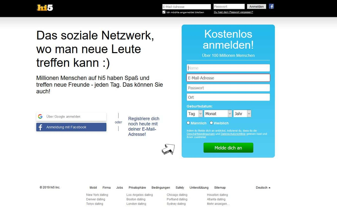 Testbericht hi5.com Abzocke