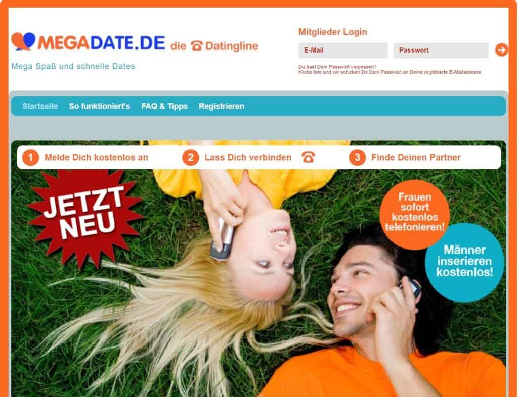 Testbericht: MegaDate.de Abzocke