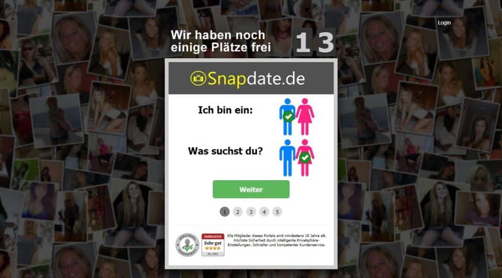 Testbericht - snapdate.de Abzocke