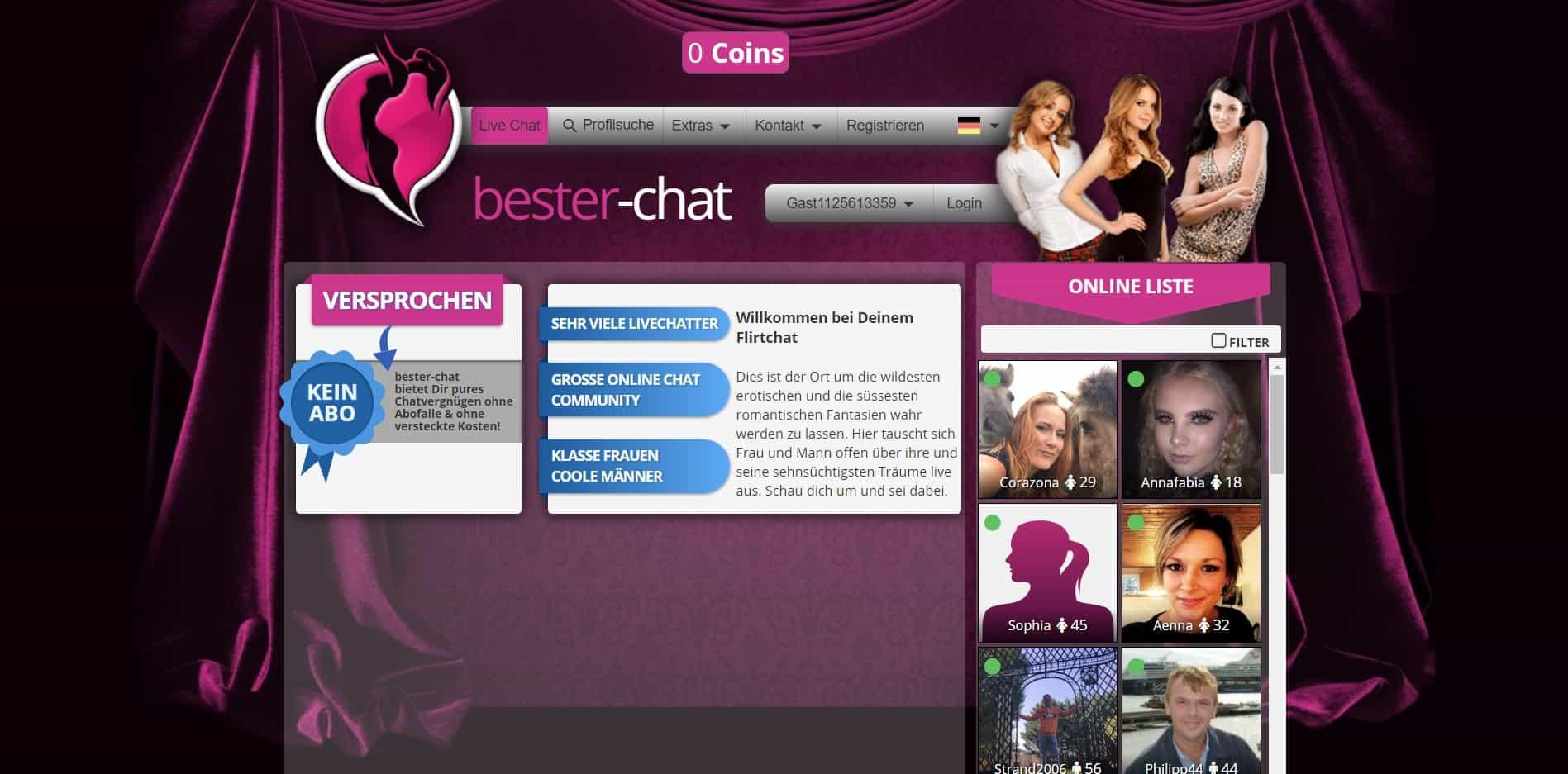 Testbericht: Bester-Chat.com Abzocke