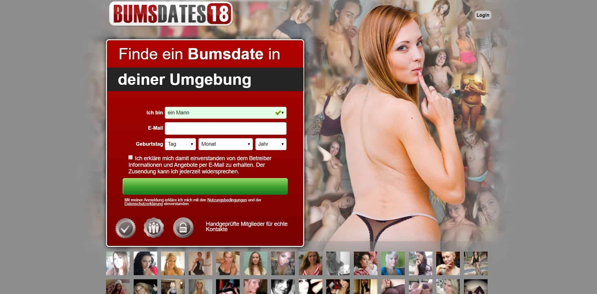 Testbericht: BumsDates18.com Abzocke
