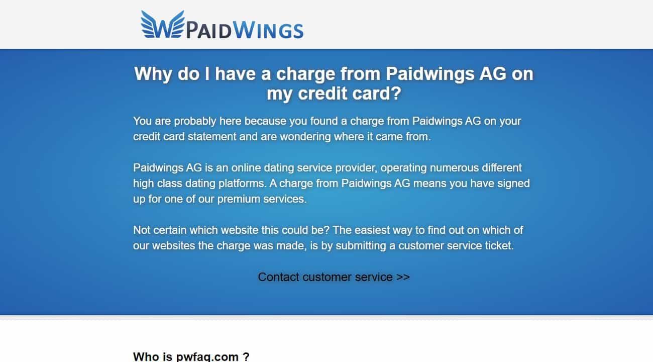 Testbericht: Paidwings AG Abzocke