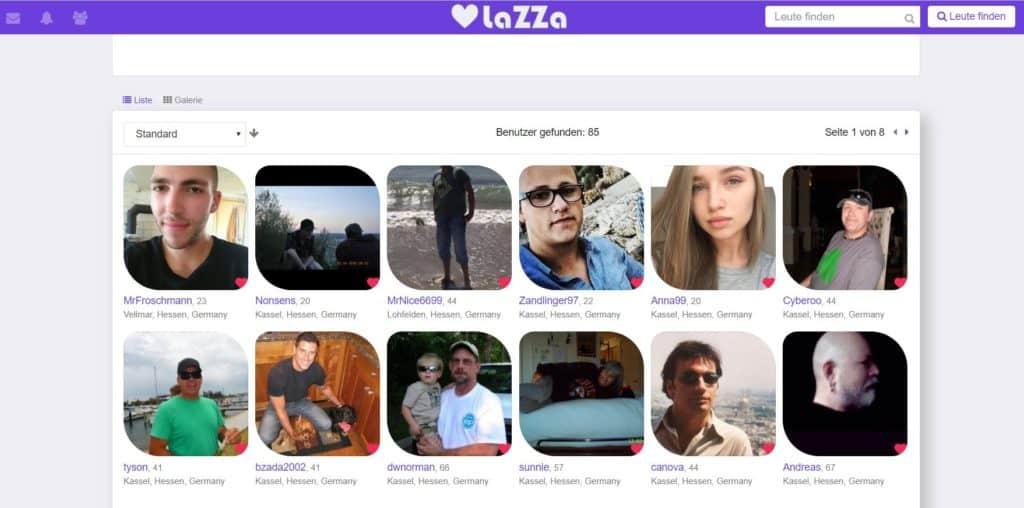 Testbericht - lazza.de Mitgliederbereich