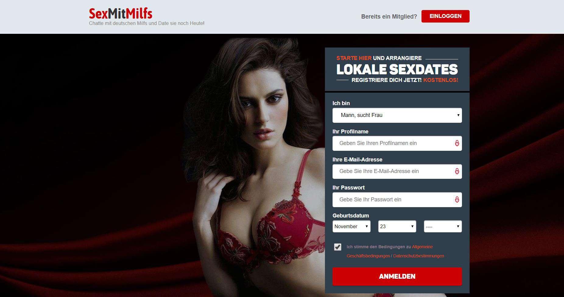 Testbericht: SexMitMilfs.de Abzocke