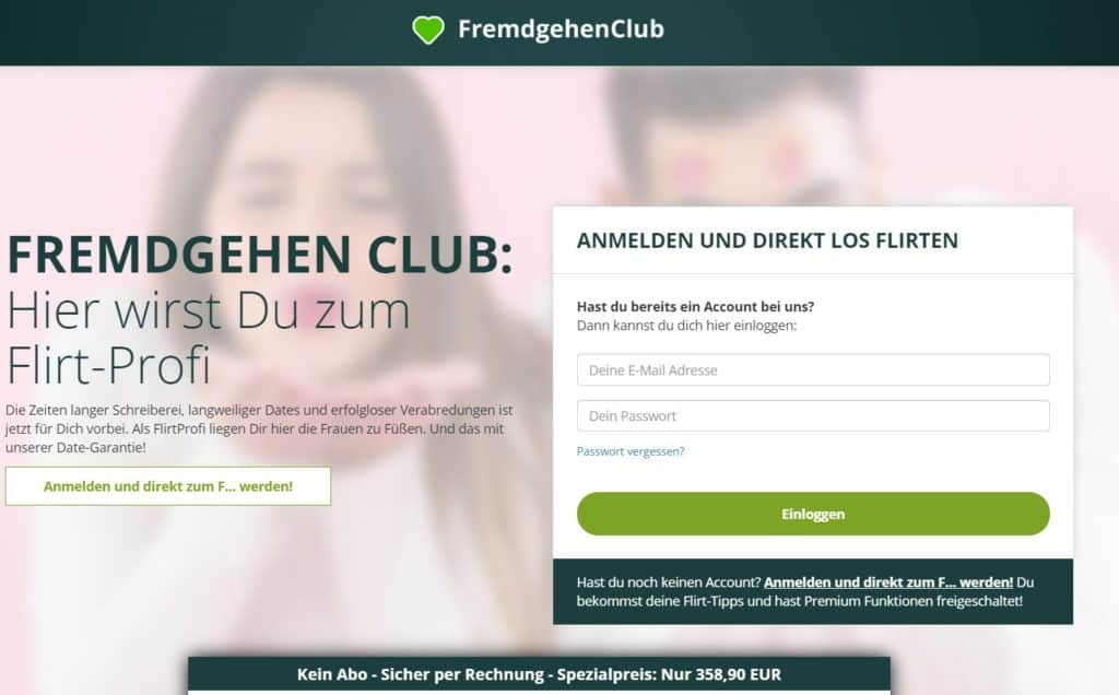 Testbericht: FremdGehenClub.com Abzocke