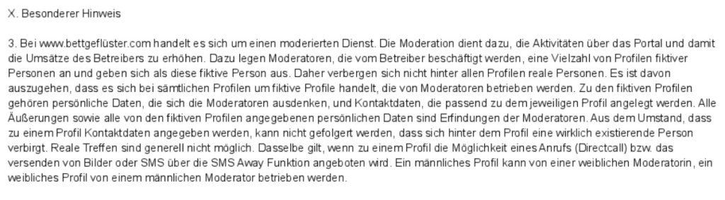 bettgefluester.net - AGB Moderatoren