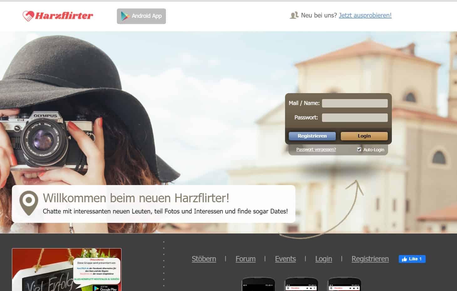 Testbericht: HarzFlirter.de Abzocke