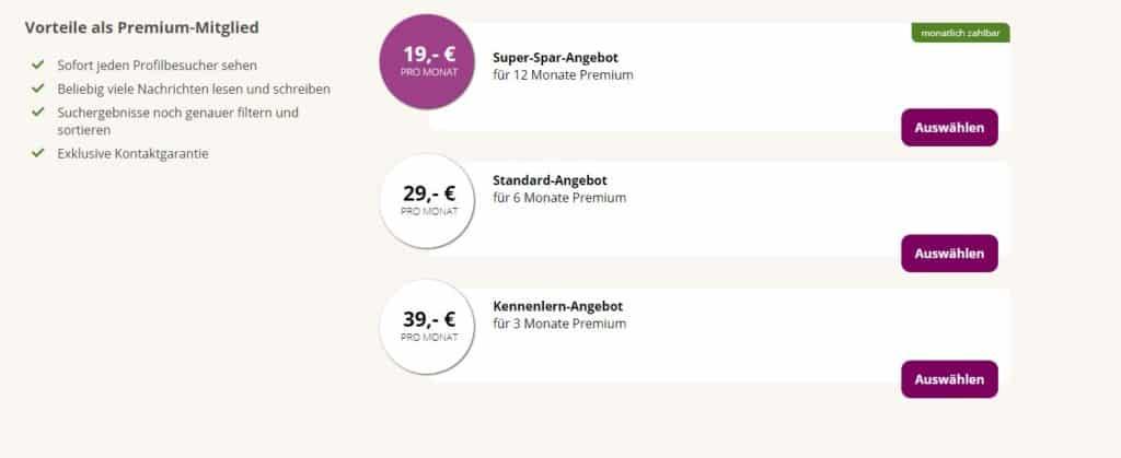 lebensfreunde.de - Premium Vorteile