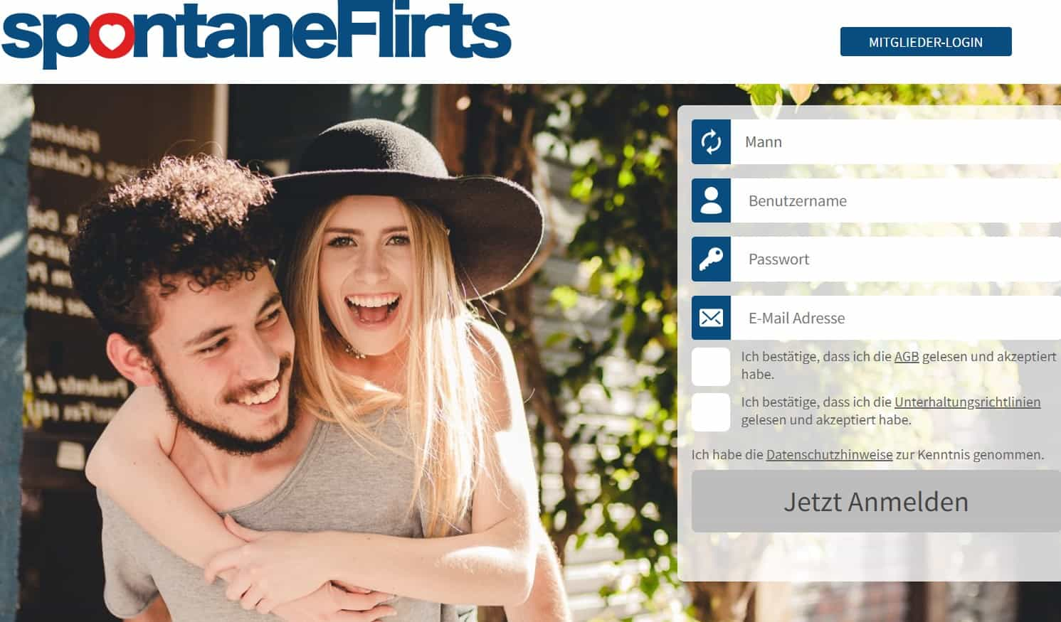 Testbericht: SpontaneFlirts.com Abzocke