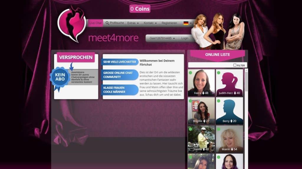 Testbericht - meet4more.com Abzocke