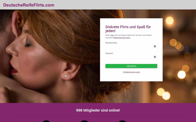 Testbericht: DeutscheReifeFlirts.com Abzocke