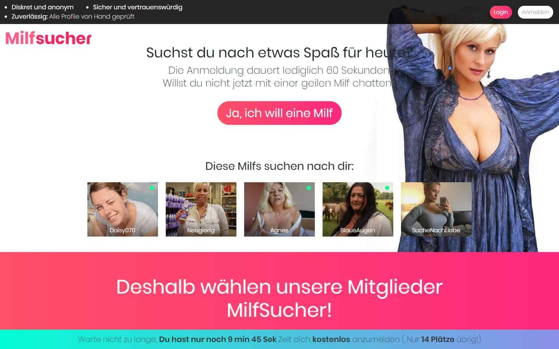 Testbericht: MilfSucher.com Abzocke
