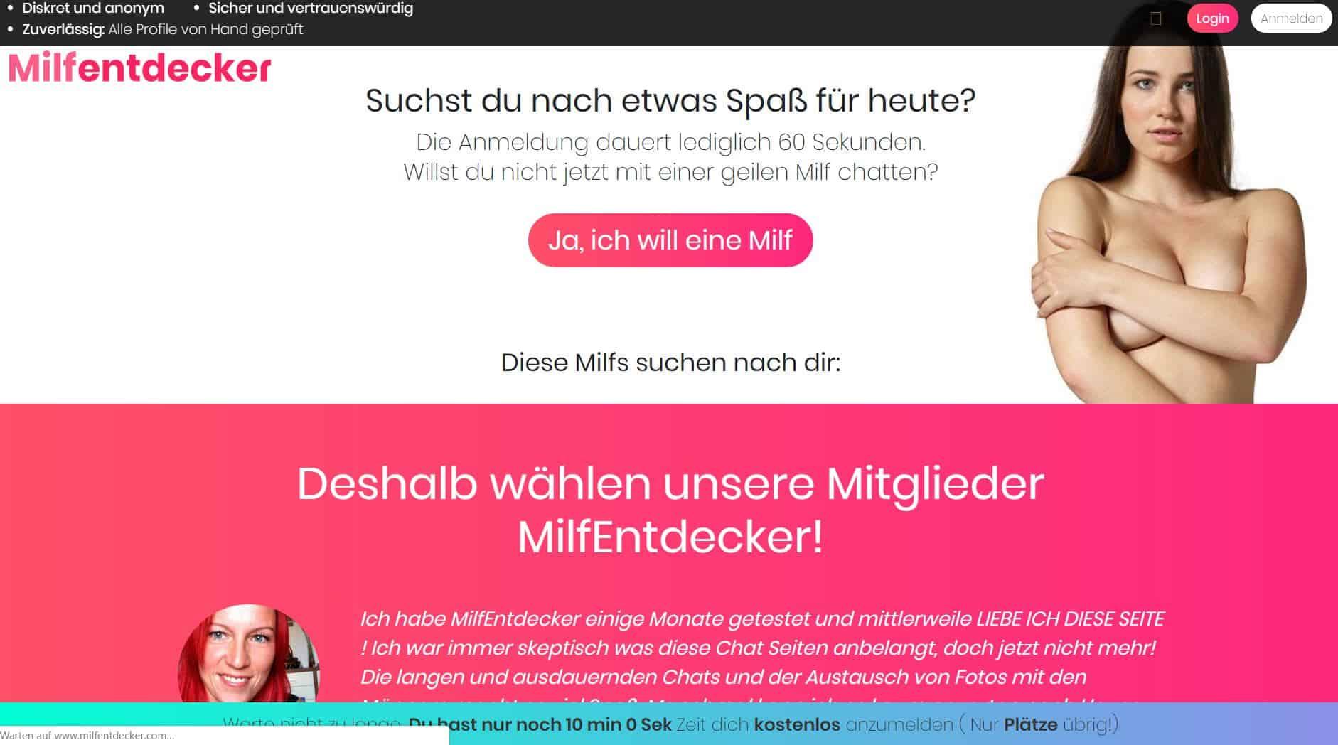 Testbericht: MilfEntdecker.com Abzocke