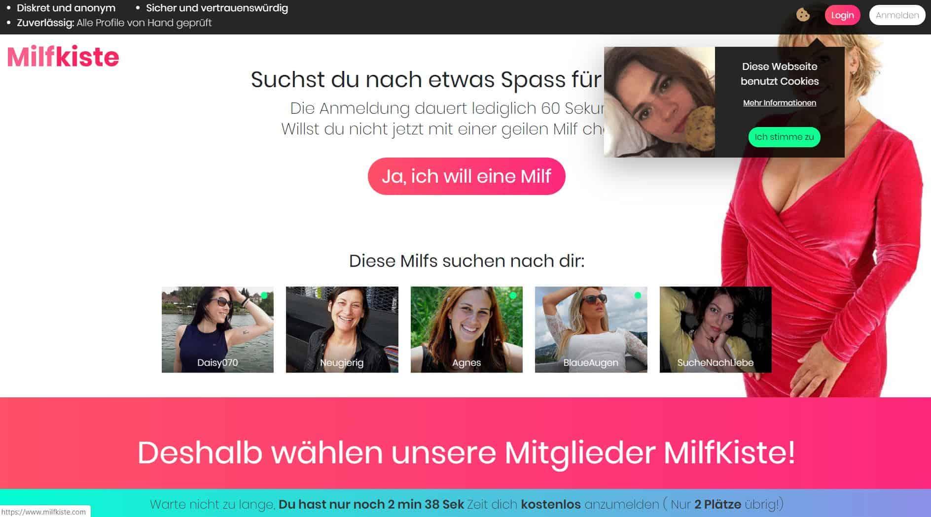 Testbericht: MilfKiste.com Abzocke