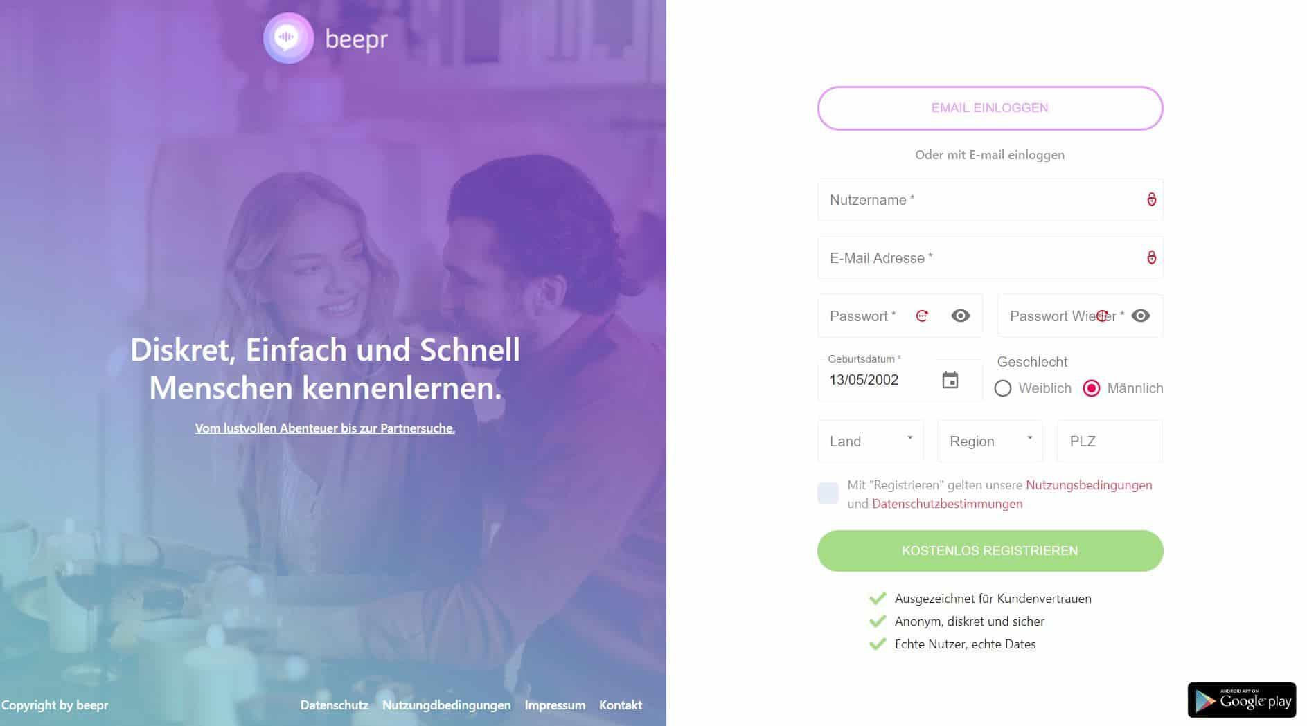 Testbericht: Beepr.de Abzocke