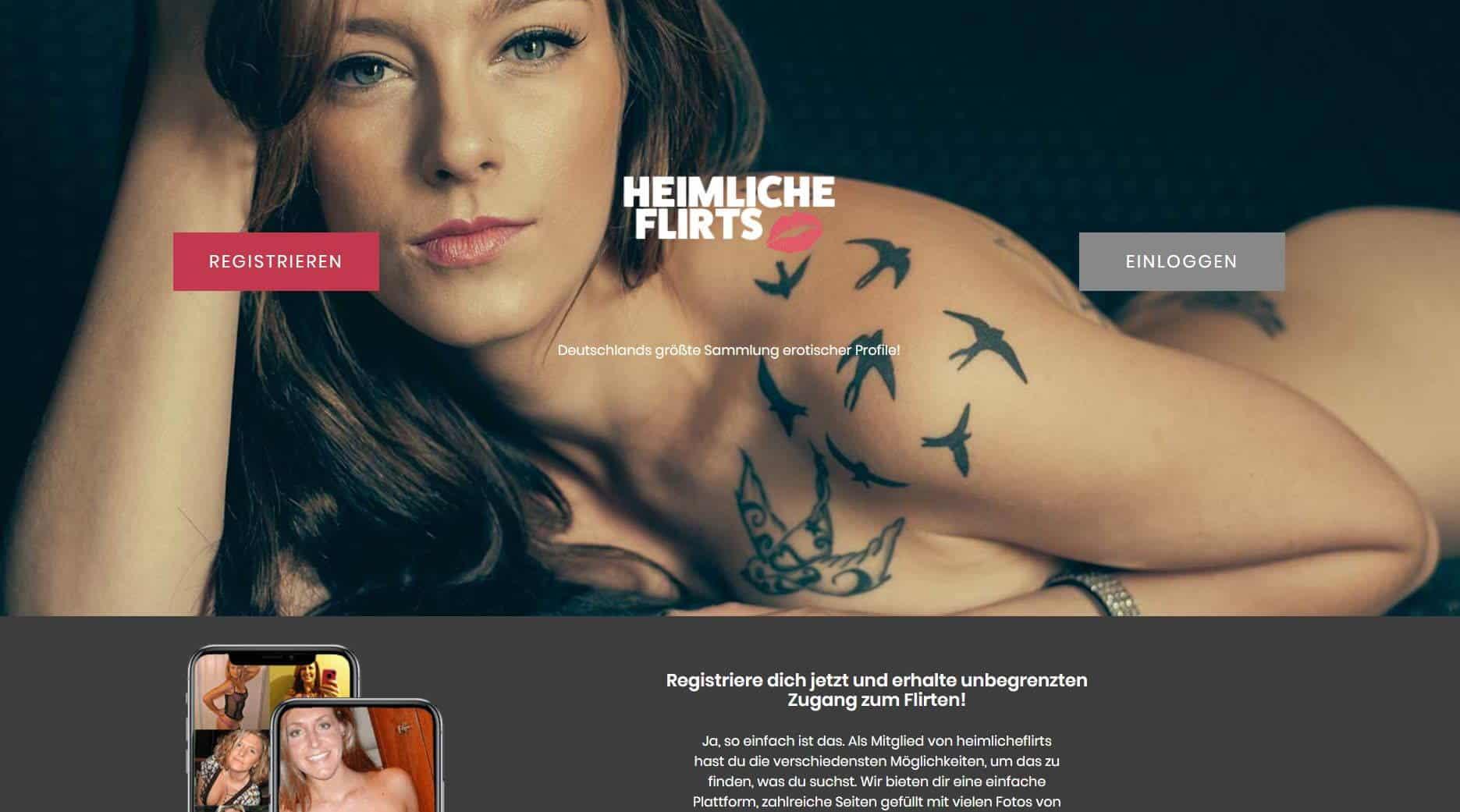 Testbericht - heimlicheflirts.com Abzocke