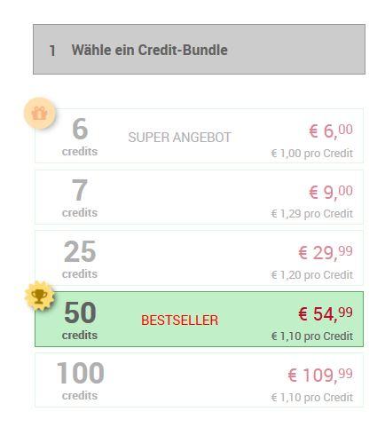 Testbericht - deinereifekontakte.com Kosten