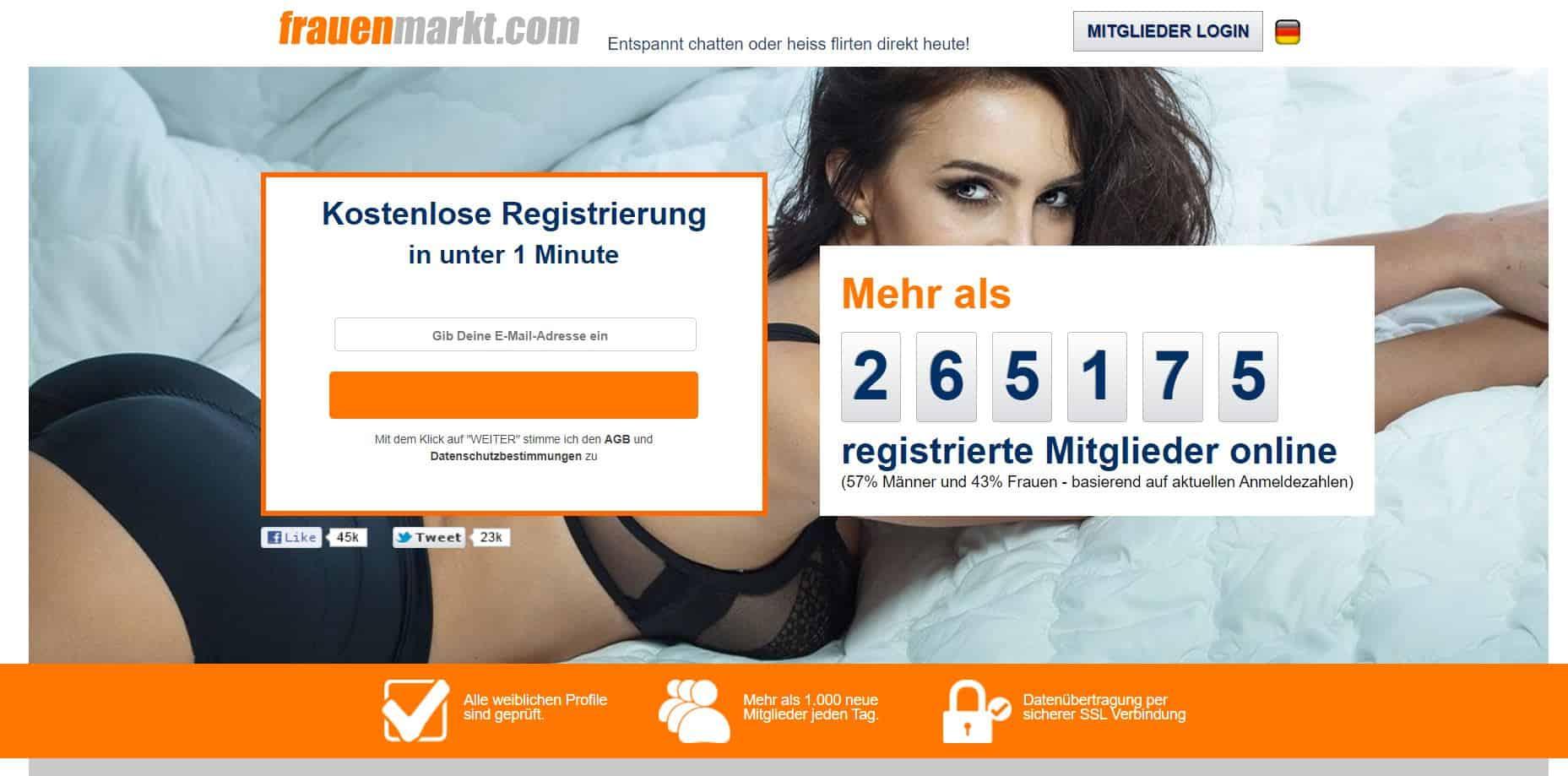 Testbericht - frauenmarkt.com Abzocke