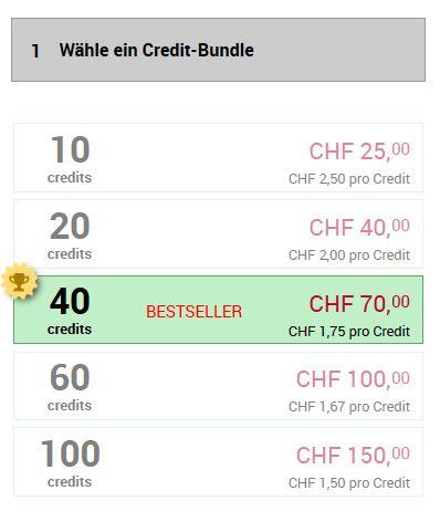 Testbericht - schweizerischemilfs.com Kosten