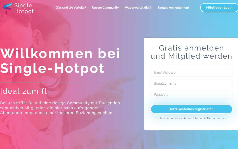 single-hotpot.net - Startseite