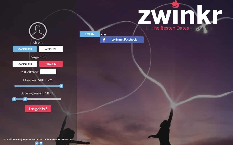 Zwinkr.me - Startseite