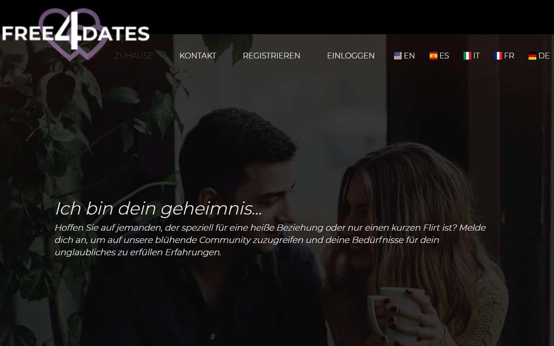 free4dates.com - Startseite